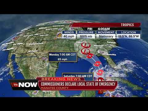Manatee County declares state of emergency ahead of Subtropical storm Alberto
