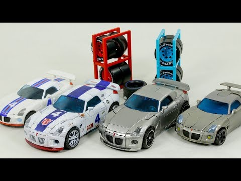 Transformers Deluxe Human Alliance Jazz VS G1 Skin Jazz Vehicles Car Robots Toys