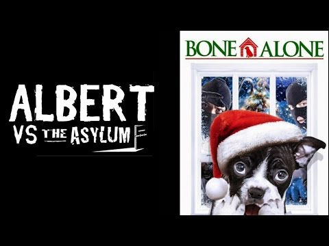 Bone Alone (aka Alone for Christmas) 2013 Movie Riff and Review - Albert vs the Asylum