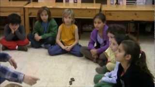 שיעור חשבון בבית הספר האנתרופוסופי בראשית