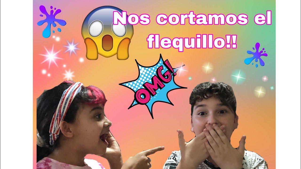 #Broma NOS CORTAMOS EL FLEQUILLO!😬SALE MAL! Tutorial flequillo falso //Las Locuras De Martha & Amal