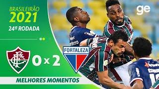Флуминенсе  0-2  Форталеза видео