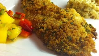 Panko Breaded Fish Fillet Recipe • Perfectly Moist with Added Crunch! - Episode #48