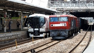 2019/05/16 JR貨物 遅3085レ EH500-10 大宮駅   JR Freight: Cargo by EH500-10 at Omiya