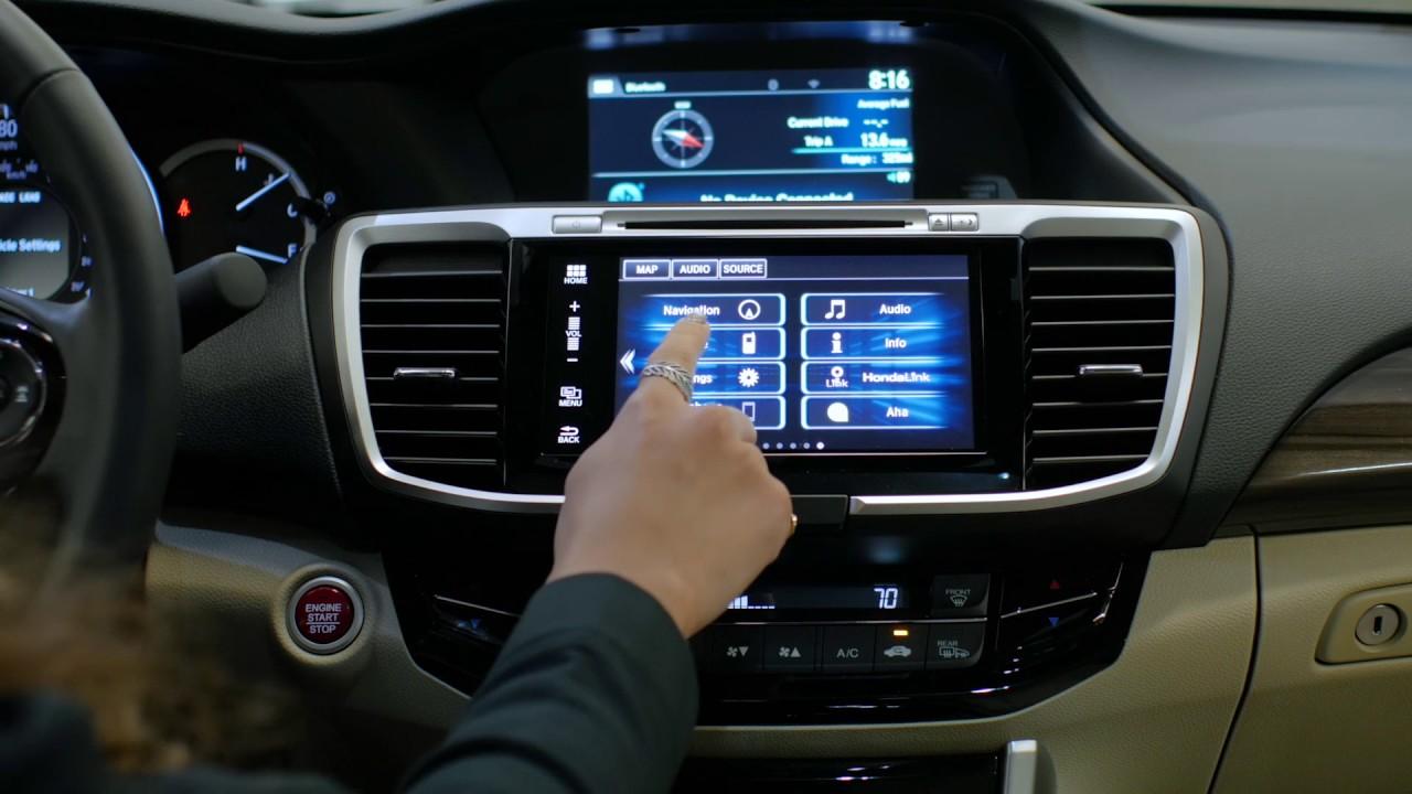 2017 honda accord navigation system problems