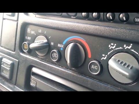 2001 Gmc Sonoma Wiring Diagram 1997 4x4 Chevy Tahoe Gmc Truck Suburban Suv Blend Door
