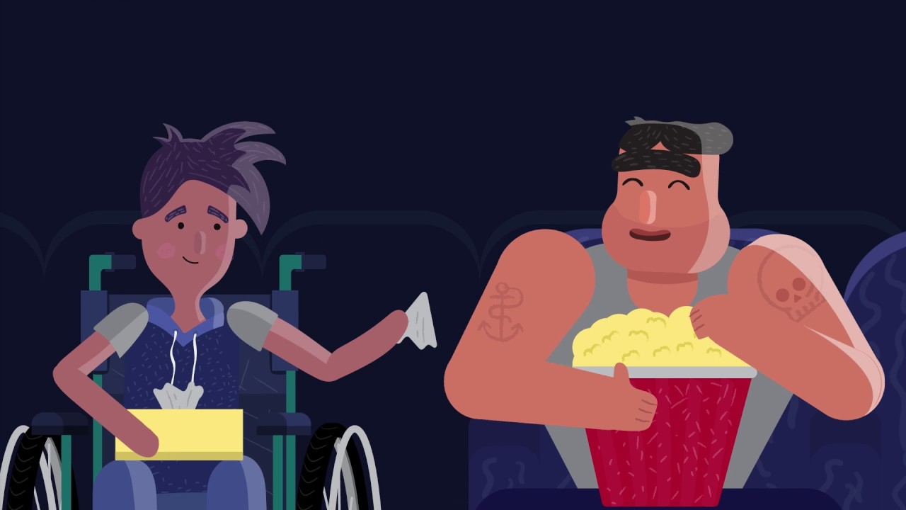 IOE, Volunteer For Disability Video  - Cartoon Animation videos   Creativa - Melbourne