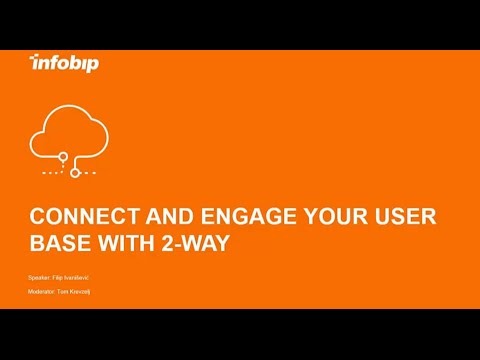 Connect and engage your user base with 2-Way SMS messaging