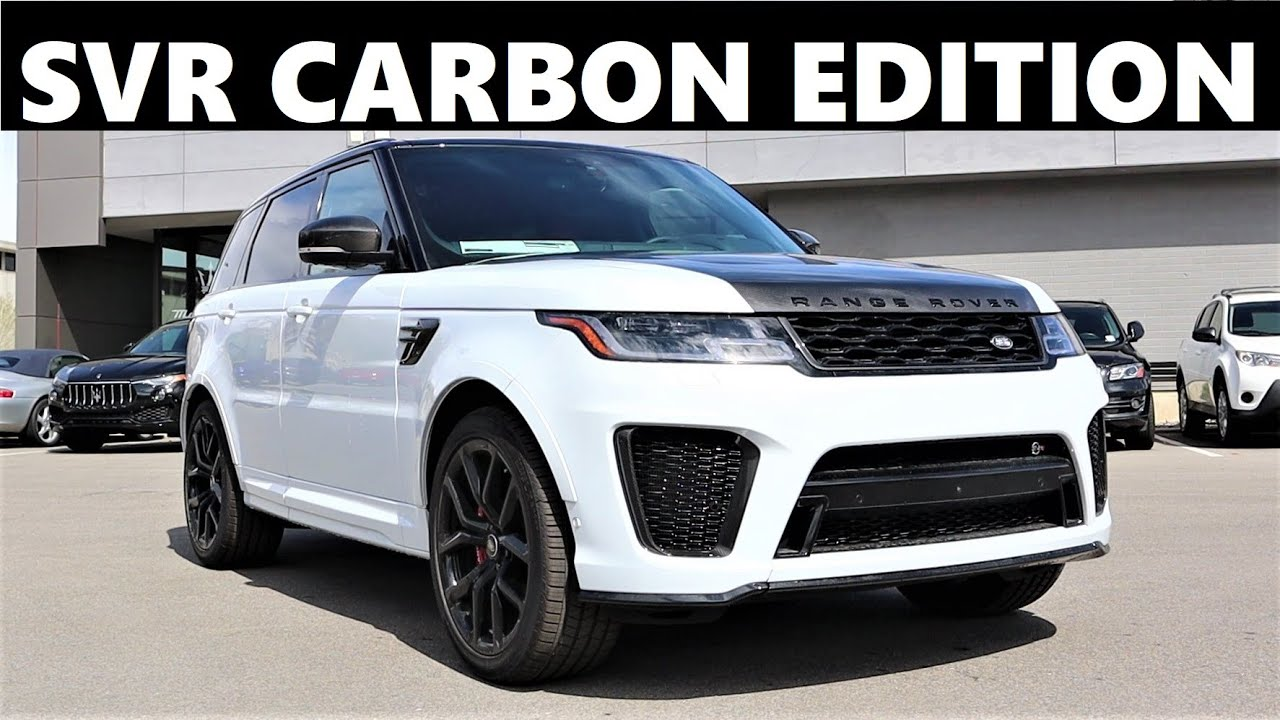 2021 Range Rover Sport SVR Carbon Edition: Is The SVR Fast And Is It Worth It?