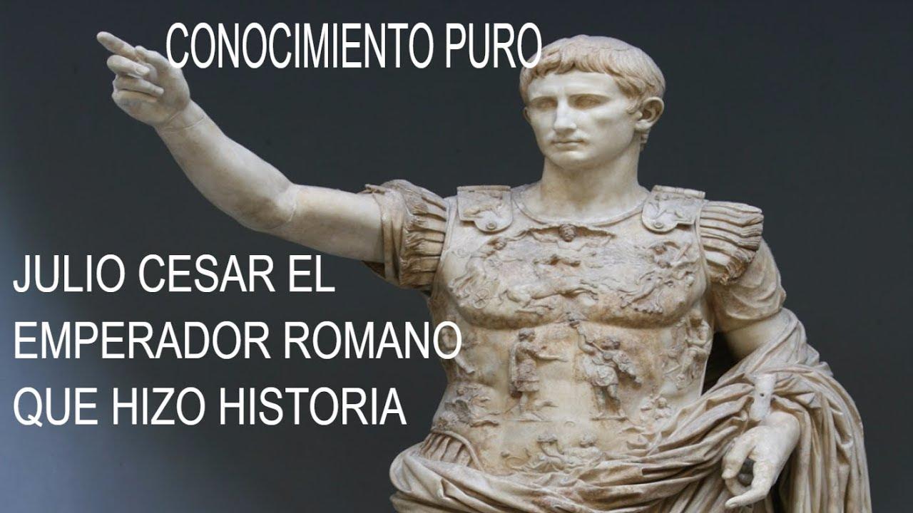 Conoce Los Pensamientos Del Emperador Más Famoso De La Historia Julio Cesar