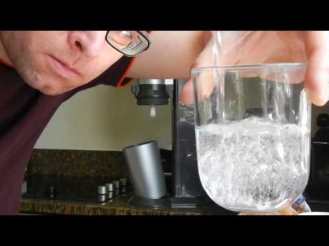 Sparkling water maker Sodastream Crystal review