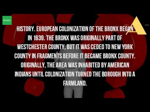 When Was The Bronx Founded?