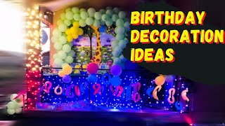 ???????? BIRTHDAY DECORATION IDEAS FOR 1ST BD PARTY ????????