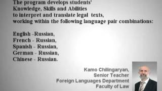 Course in Legal Translation and Interpreting