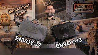 Vanquest: ENVOY-13 & ENVOY-17! Messenger Bags Done RIGHT!