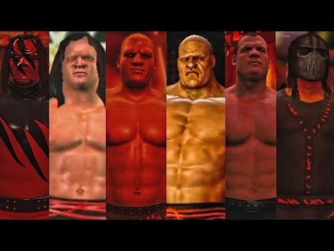 WWE 2K17 - Kane Entrance Evolution! ( Here Comes the Pain To WWE 2K17 )
