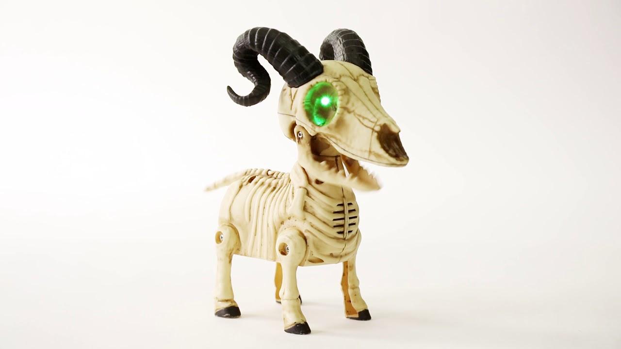 Animated Mini Goat Skeleton Big Lots