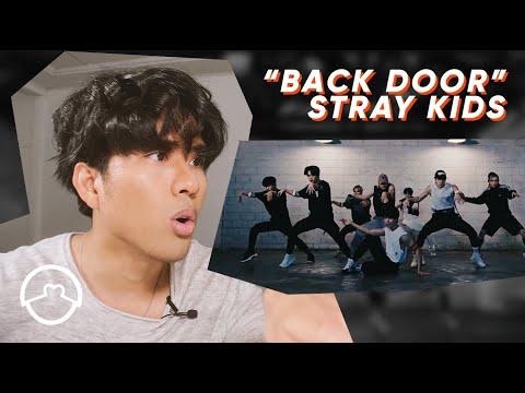 """Performer Reacts to Stray Kids """"Back Door"""" Dance Practice"""