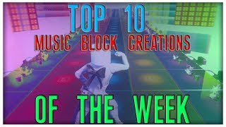 Top 10 Music Block Creations Of The Week! (DESPACITO, LOOK ALIVE, MANY MORE!)