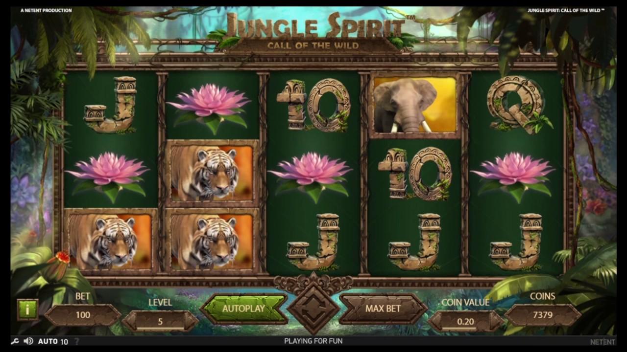 jungle spirit slot game