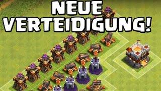 NEUE VERTEIDIGUNG - RATHAUS 11! || CLASH OF CLANS || Update Sneak Peek #7 [Deutsch/German HD+]