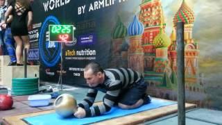 Новоженов  Беларусь   40 кг