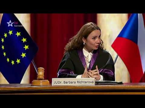 Barrandovský Silvestr 2016 - Scénka Soudkyně Barbara  1.část