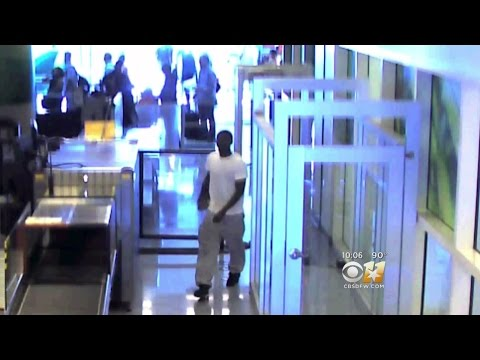 Security Video Shows Man Breach TSA Checkpoint