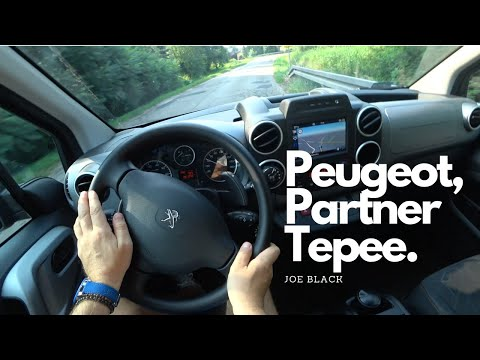 Peugeot Partner Tepee 1,6 BlueHDi 100 HP 4K | POV Test Drive #094 Joe Black