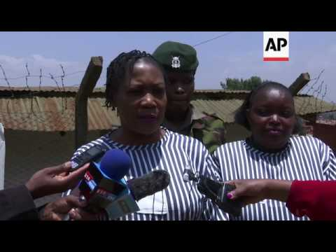 A woman's jail in Kenya celebrates votes for prisoners