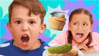 Do You Like Crazy Food | Tuna Cupcakes | Nursery Rhymes