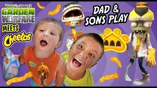 Dad u0026 Sons Play PVZ Garden Warfare: CHEETOS! Chester Chomper u0026 Dr. Chester Face Cam Gameplay