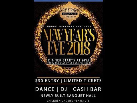 Saffron # Desi New Year Eve Party # Dec 31st @ Powell