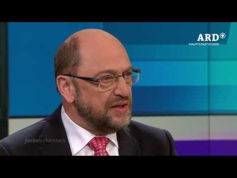 Farbe bekennen mit Martin Schulz, 19.03.17, ARD Hauptstadtstudio