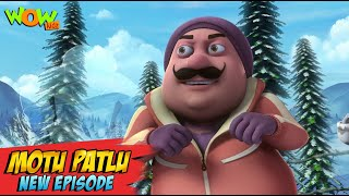 Motu Patlu New Episodes 2021 | The Invisible Tribe Of Jungfraujoch | Funny Stories | Wow Kidz
