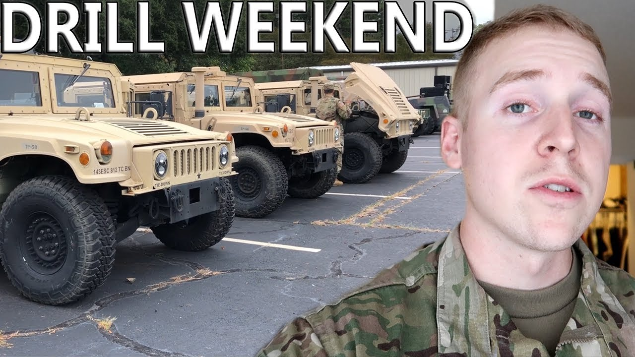 Army Reserves A Day At Drill Youtube