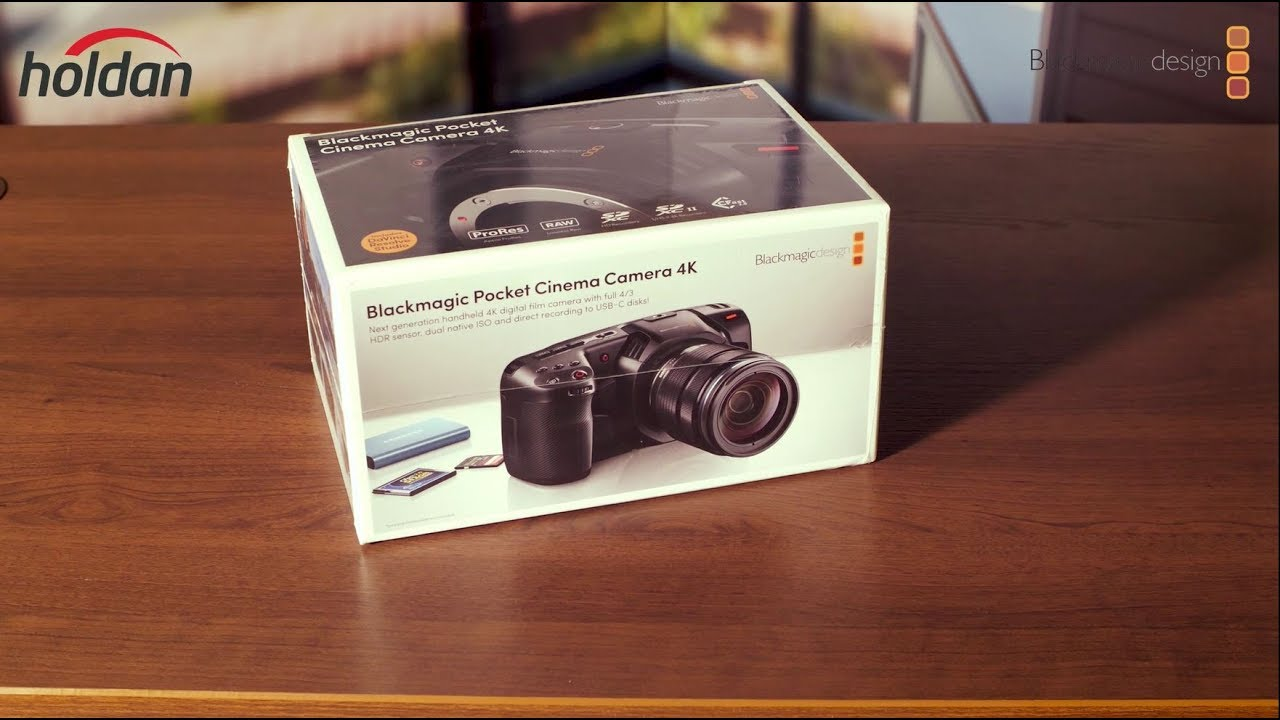 Blackmagic Design Pocket Cinema Camera 4K Unboxing!!!