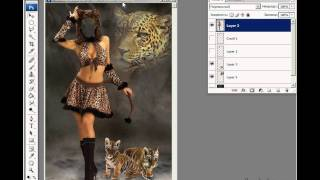 Photoshop - Шаблоны для фото (урок 25)