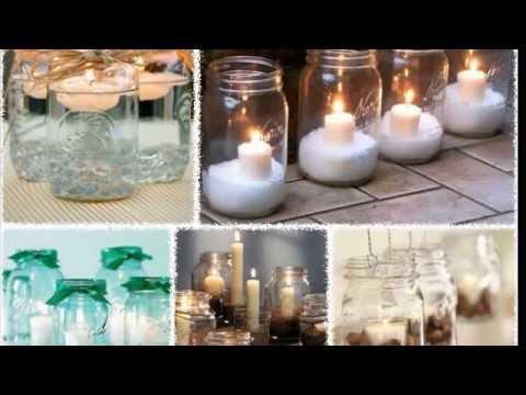 Как украсить стол свечами