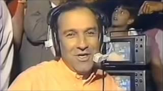 Rádio Globo: a volta de Osmar Santos (08/12/1991) Video