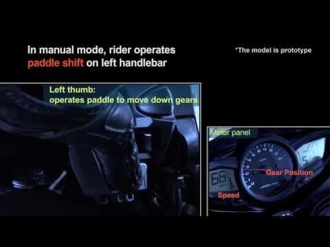 New technology: Honda Dual Clutch Automatic Transmission for Motorcycles
