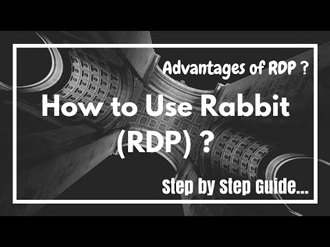 How To Use Rabb.it RDP ? Guide In Urdu/Hindi