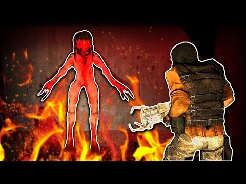 GHOST DETECTOR & ZOMBIES?! - Garry's Mod Horror Maps - The Hunt! Ep.2
