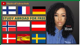 Best countries to study abroad for free 2021  Budget-friendly study abroad destinations  Valeen Oseh