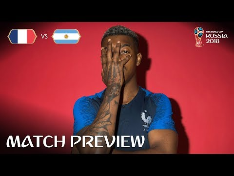 Presnel KIMPEMBE (France)  - Match 50 Preview - 2018 FIFA World Cup™