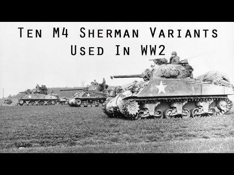 Top 10 Most Interesting M4 Sherman Tank Variants