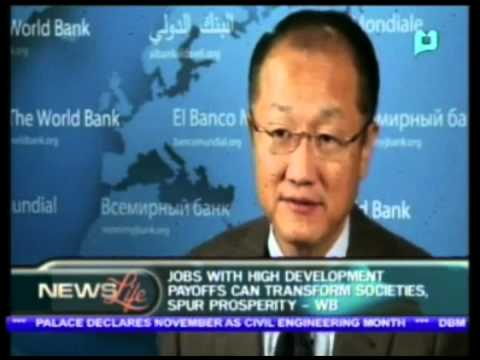 World Bank: Jobs with high development payoffs can transform societies, spurs prosperity
