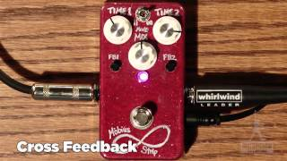 VFE Mobius Strip Guitar Pedal Review - GearUP on TMNtv !