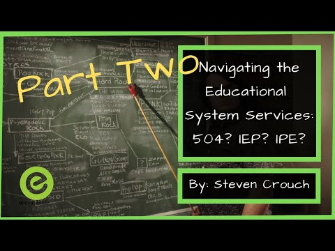 How to get Special Education Services for Your Child | Understanding 504's and IEP's: Part 2