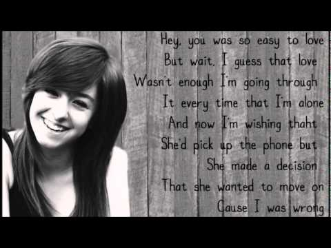 Sam Tsui feat. Christina Grimmie - Just a dream by Nelly (Lyrics)